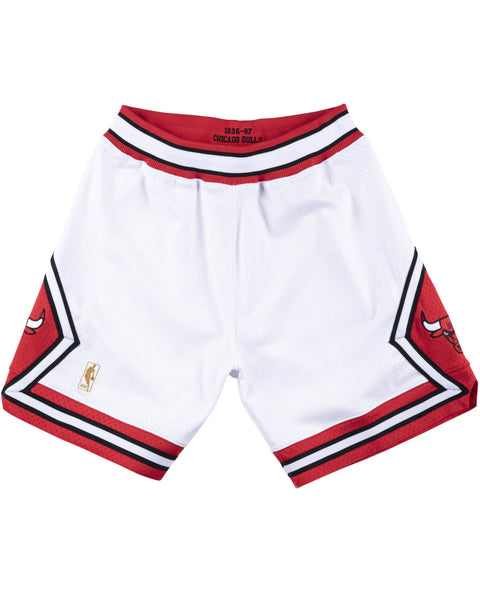 CHICAGO BULLS SHORTS WHITE