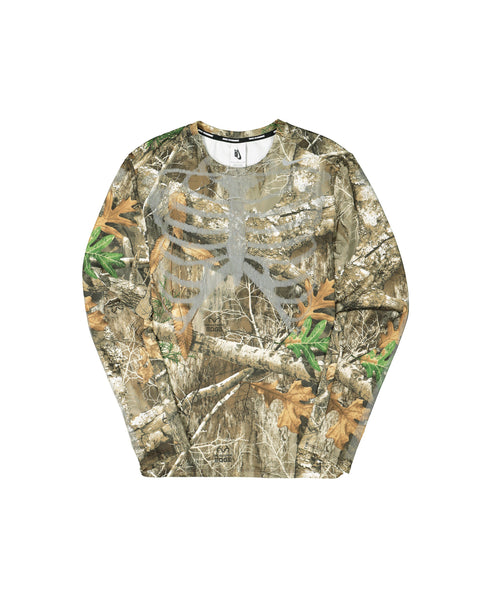 MEN'S NRG SKELETON TOP LS 2