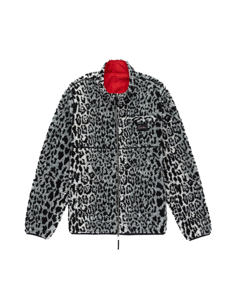 Snow Leopard Reversible Sherpa Jacket
