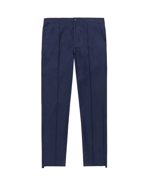 WOOL PLEATED PANT