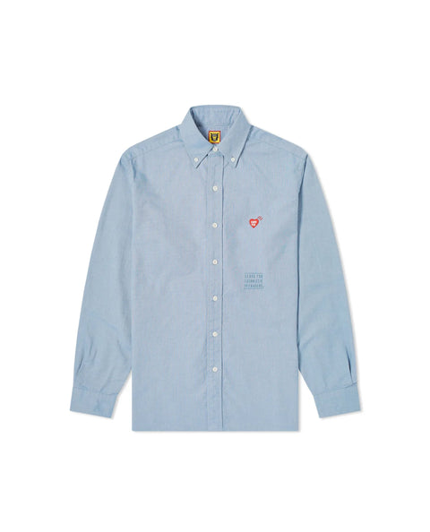 COLOR OXFORD B.D SHIRT