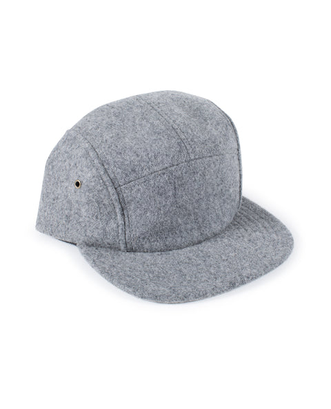 Wool Cap - Light Grey