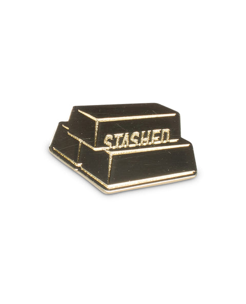 Gold Bars Pin