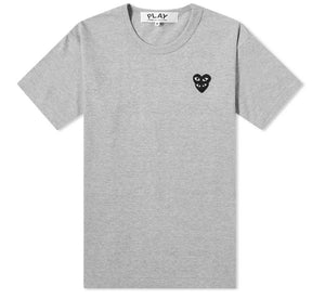 Play Double Black Heart SS T-Shirt