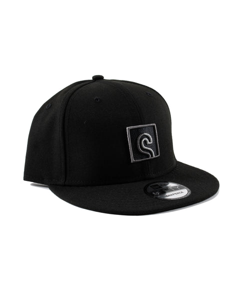 Stashed Black Snapback