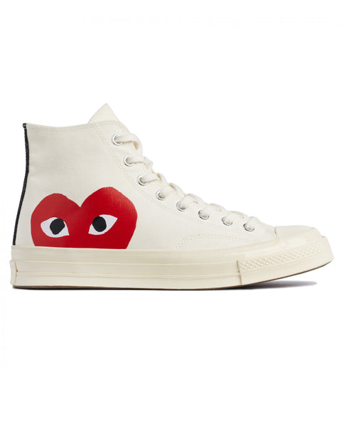 CONVERSE PLAY CHUCK 70 HIGH - WHITE