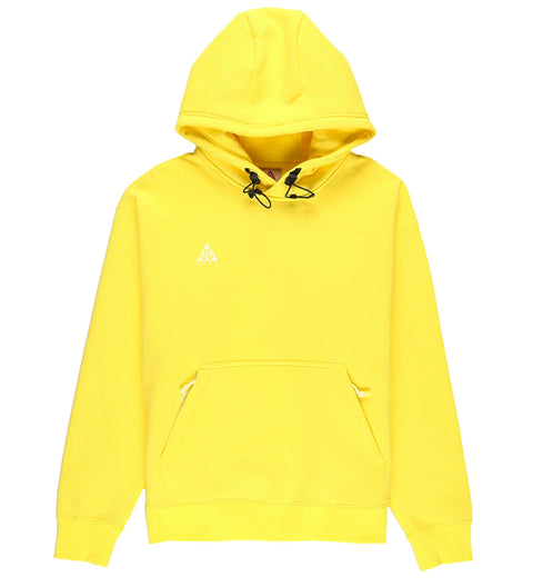 NIKE ACG PULLOVER HOODIE - OPTI YELLOW/SUMMIT WHITE