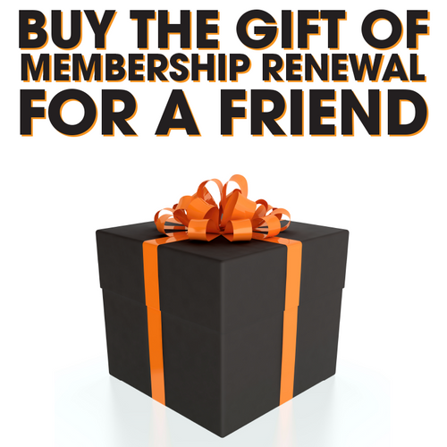 WhoDey Ladies Renew Membership Gift Card
