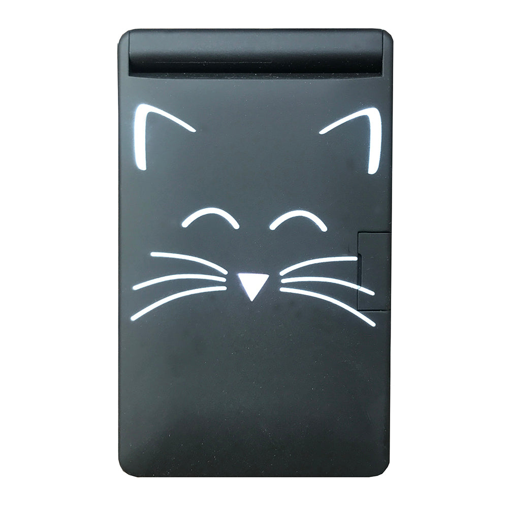 Cat Light Up LED Compact Mirror