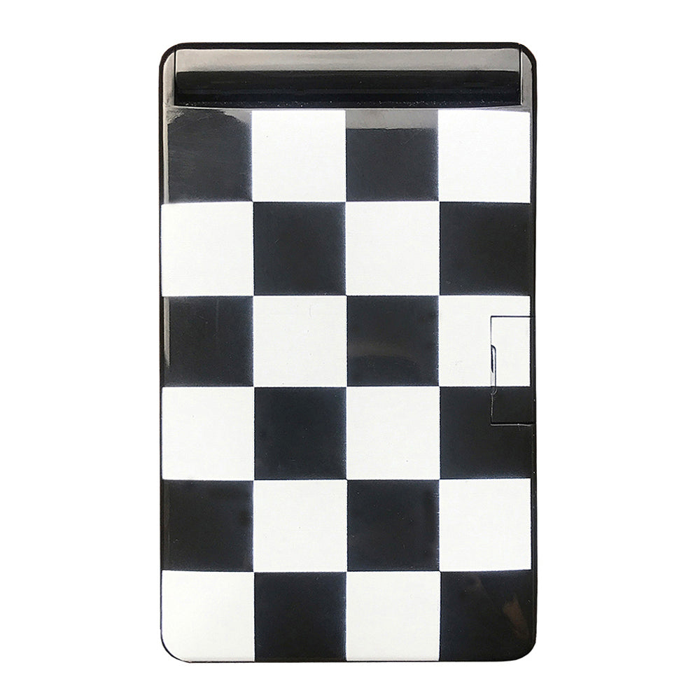 Checkerboard Light Up LED Compact Mirror