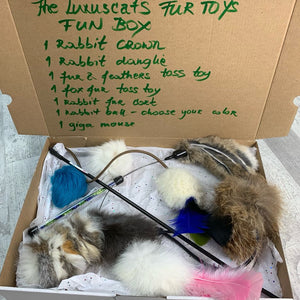 The Fur toys fun box
