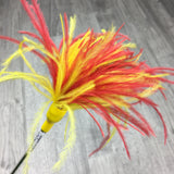 Ostrich Feathers Cat Teaser