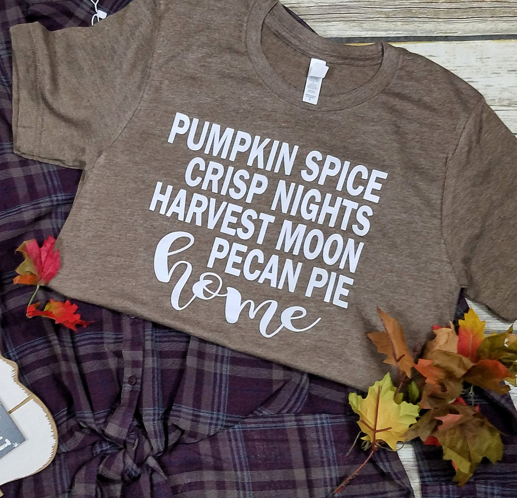 Pumpkin spice Home - Blingz Jeanz and Thingz