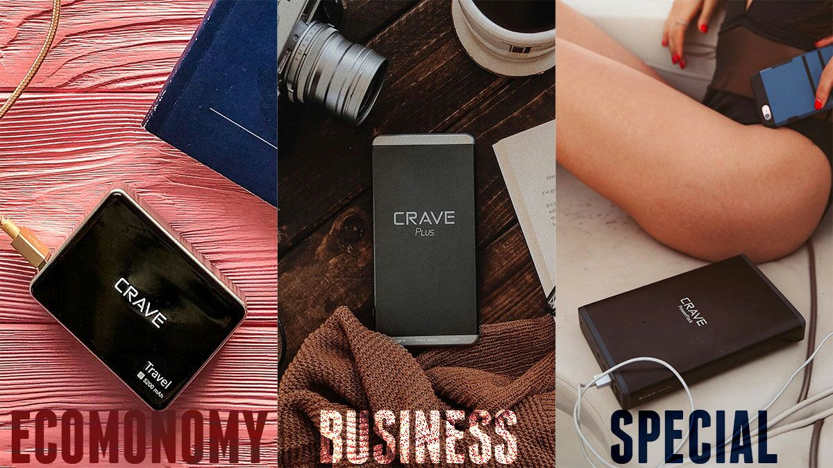 Best Portable Chargers for business travelers to consider are Crave power banks