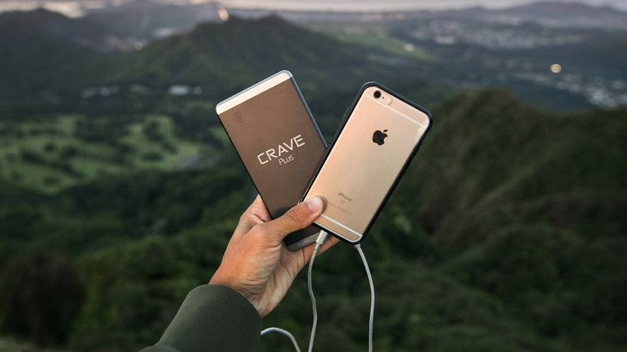 Crave Plus 10000 mAh ultra slim portable phone charger