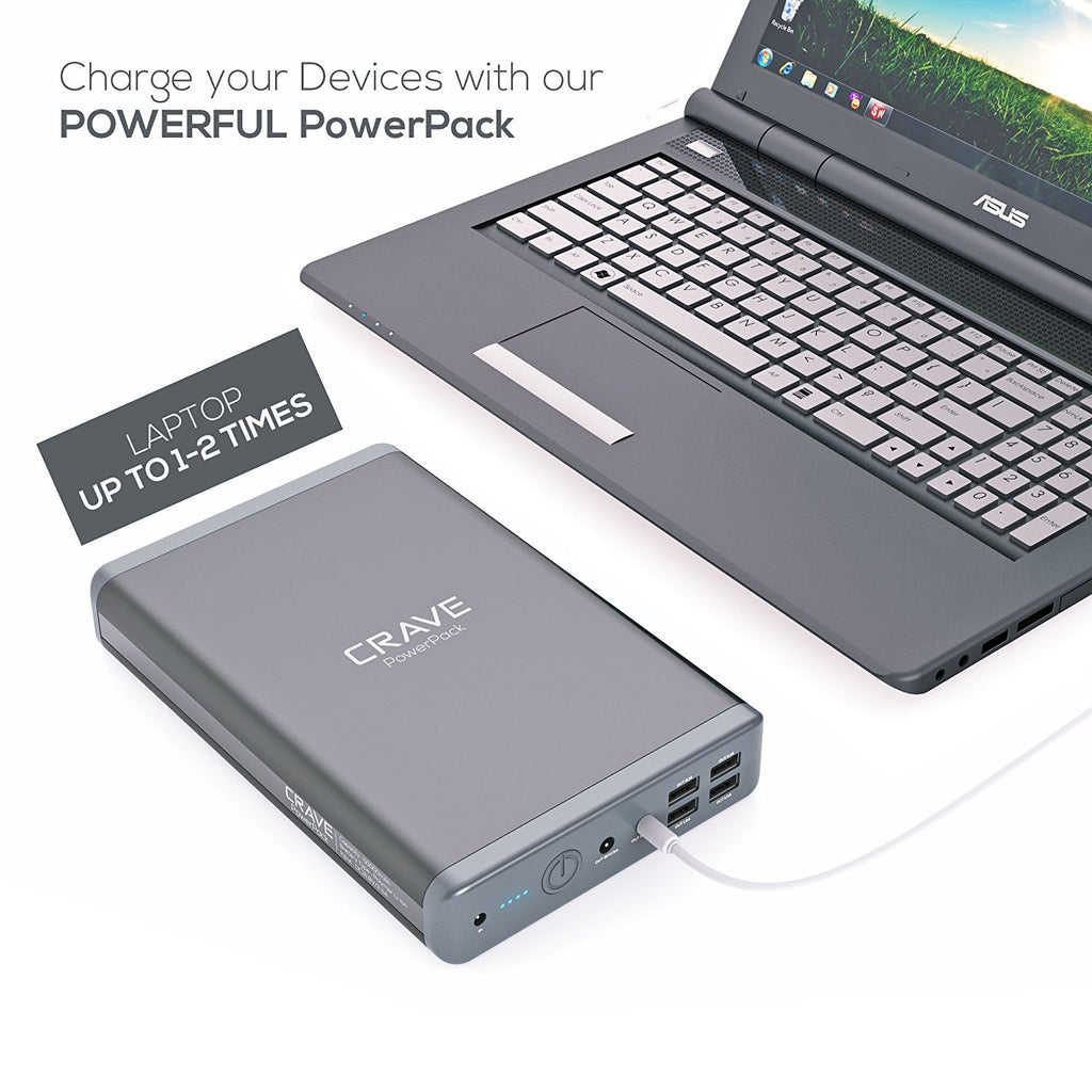 Crave PowerPack 50000 mAh power bank portable laptop charger
