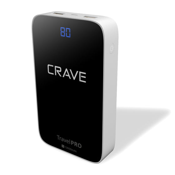 Crave Travel Pro 13000 mAh power bank portable charger