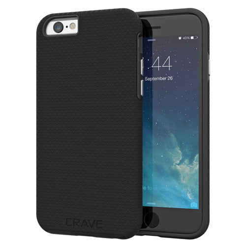 Black iPhone 6 Case Apple 6s Cover Six Crave var-8111183429745