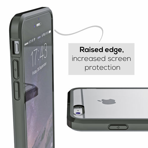 Black Apple iPhone 6 6s Case Crave Slim Guard Clear Dark Cover var-4929502904361 var-4929503035433