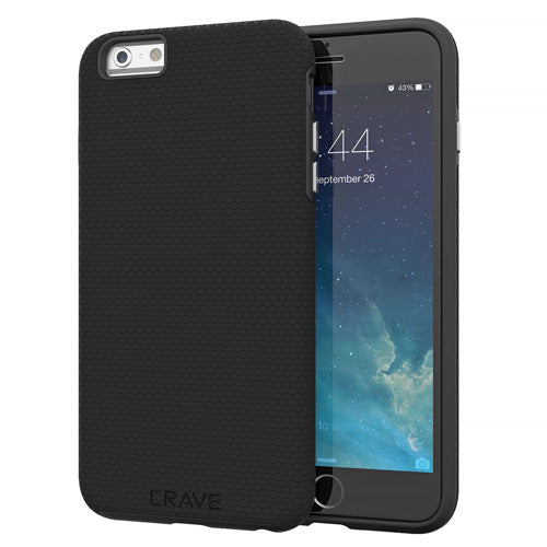 Black iPhone 6 Plus Case Apple 6s Cover Six Crave var-8111183167601