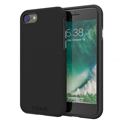 Black iPhone 7 Case Apple 8 Cover Seven Eight Crave var-8111183003761