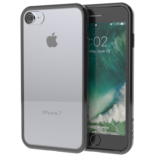 Black Apple iPhone 7 8 Case Crave Slim Guard Clear Dark Cover var-4929502838825
