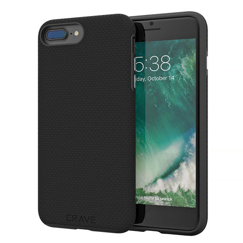 Black iPhone 7 Plus Case Apple 8 Plus Cover Seven Eight Crave var-8111182839921