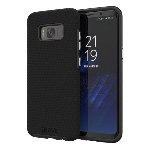 black samsung galaxy s8  case cover by crave eight var-8116733149297