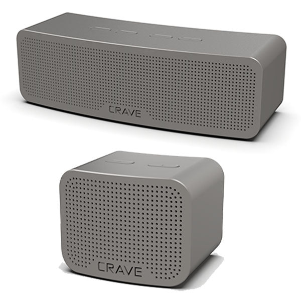Crave Curve Bluetooth Speaker 20-Watt & Crave Curve Mini 5-Watt