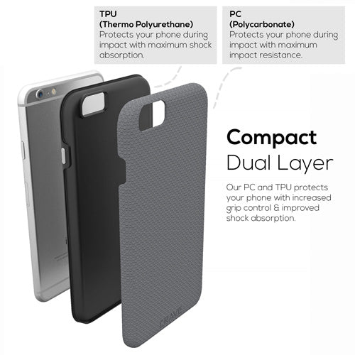 Grey Gray iPhone 6 Plus Case Apple 6s Plus Cover Six Crave var-8111183200369