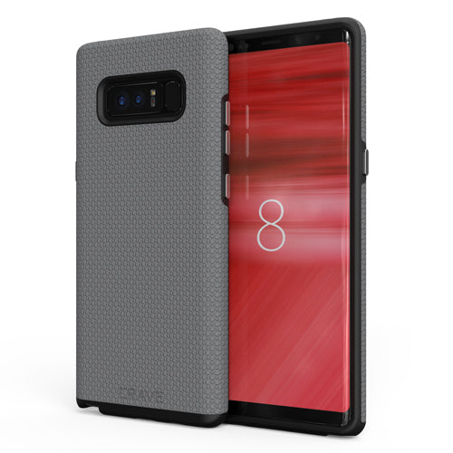 grey gray samsung galaxy note 8  case cover by crave eight var-8116733247601