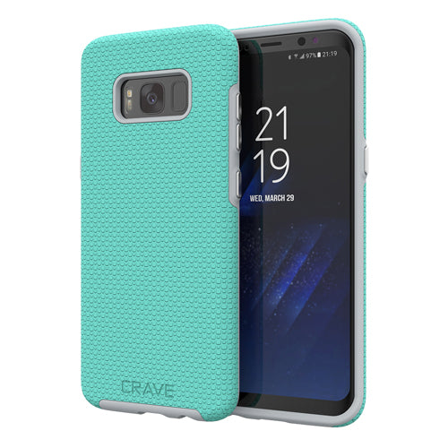 mint samsung galaxy s8  case cover by crave eight var-8116733214833