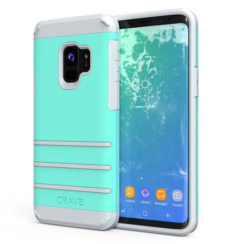 Mint Green Samsung Galaxy S9 Case Strong Nine Cover by Crave var-8116750155889
