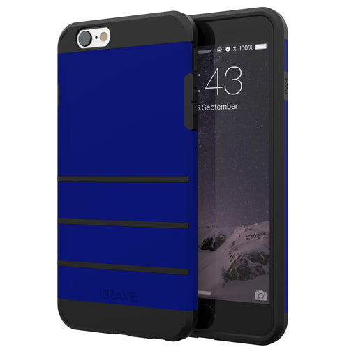 Navy Blue Apple iPhone 6 6s Case Cover Crave Strong Guard var-4931112271913