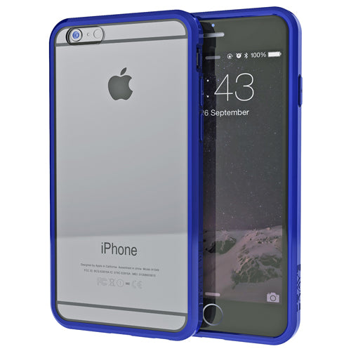 Navy Blue Apple iPhone 6 6s Case Crave Slim Guard Clear Cover var-4929502937129 var-4929503068201