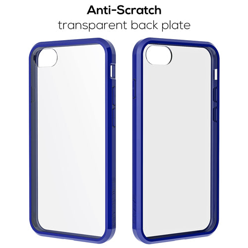 Navy Blue Apple iPhone 7 8 Case Crave Slim Guard Clear Cover var-4929502871593