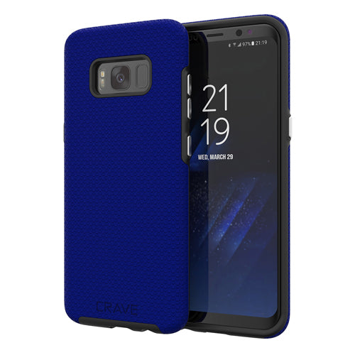 navy blue samsung galaxy s8  case cover by crave eight var-8116733116529