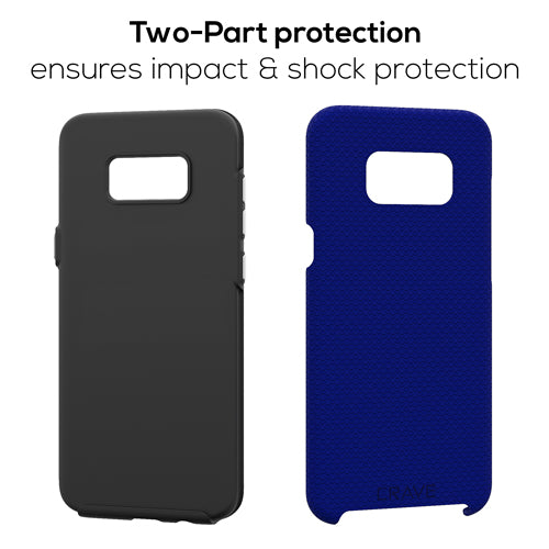 navy blue samsung galaxy s8 plus case cover by crave eight var-8116733050993