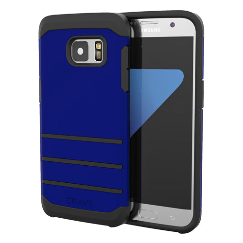 Navy Blue Samsung Galaxy S7 Edge Case Strong Cover by Crave var-8116749893745