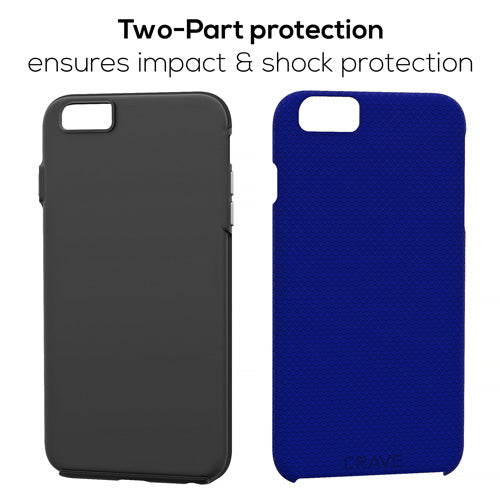 Navy Blue iPhone 6 Plus Case Apple 6s Plus Cover Six Crave var-8111183134833
