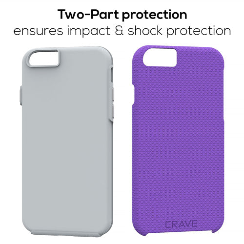 Purple iPhone 6 Case Apple 6s Cover Six Crave var-8111183364209