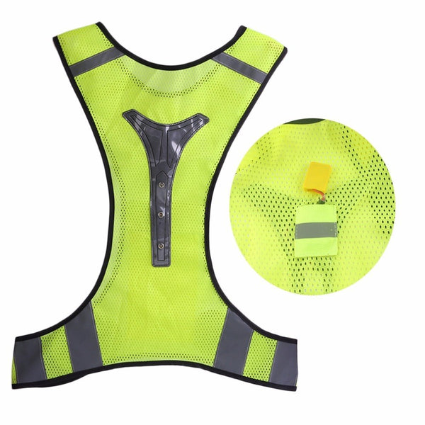 Adjustable Unisex High Visibility Security Reflective Vest Reflective Vest