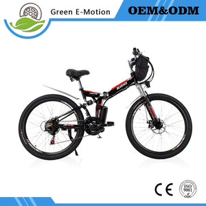 "26"" 48v 60km 70km 20Ah 25Ah Electric Folding Road/Mountain Bike"