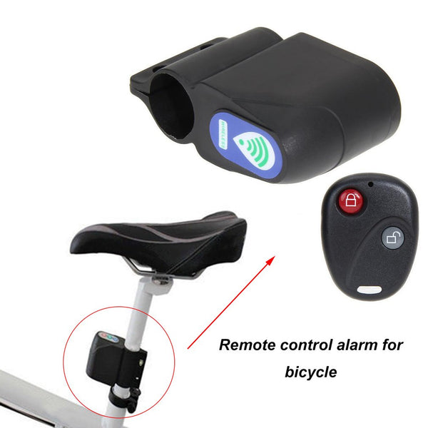 Bicycle Lock Anti-theft Remote Control Mountain Road Bike Excellent Cycling Security Lock Vibration Alarm