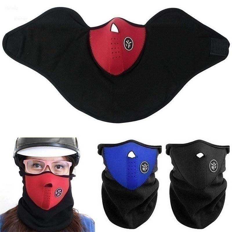 Breathable Half Face Mask Windproof&Anti-dust Mask Winter Ski Mask Cold Weather Sport Activities