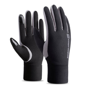 Touch Screen Winter Warm Fleece Lined Thermal Outdoor Sports Gloves