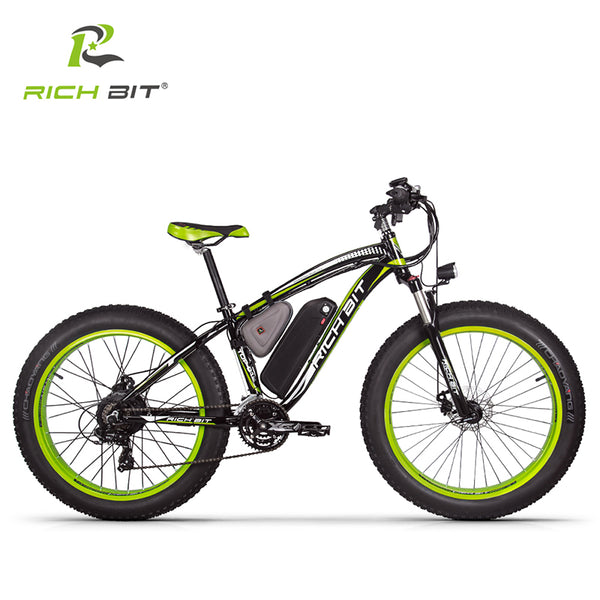 RichBit RT-012 High Capacity Electric Bike Battery 1000W 48V 17Ah Lithium Battery With Charger Ebike, compatible with RT-012