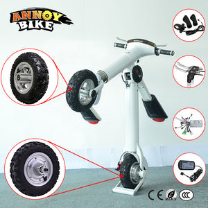 10 inch 24-48v 350w-800W 12-50km/h Electric Scooter Reversing Front Wheel