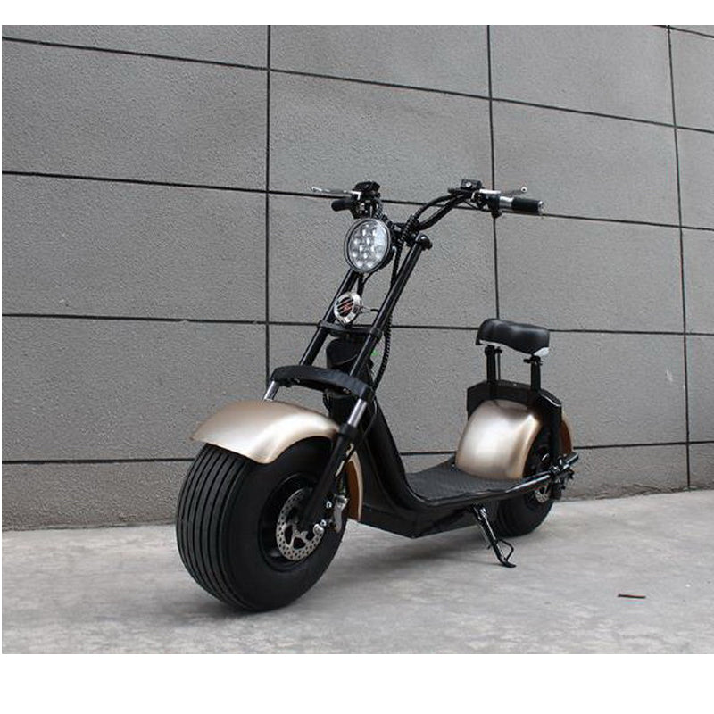 New round of Harley 1000W 60V Adult Electric City Scooter/Hydraulic shock absorption
