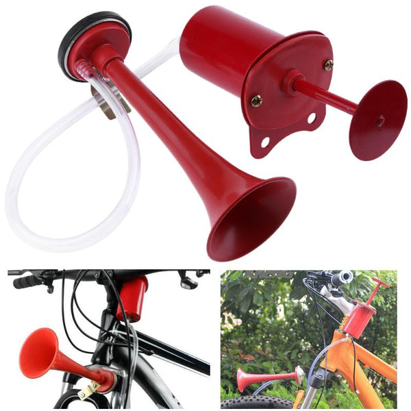 MTB Bike Bicycle Horn Air Alarm Bicycle Bell Cycling Handlebar Ultra Loud